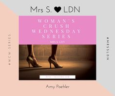 #WCW - Woman Crush Wednesday on Mrs S LDN.... This week its all about Amy Poehler!!! #kickassfemale