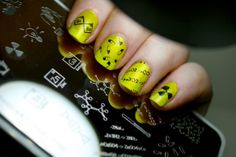 LacquerSistas: moYou Stamping Plates Review #notd #nailart