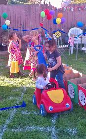 Elizabeth Breton: Thomas the Train Birthday Party!