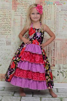 Download Penelope's Princess Ruffle Dress Sewing Pattern | Featured Products | YouCanMakeThis.com