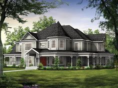 Plan 057H-0009 - Find Unique House Plans, Home Plans and Floor Plans at TheHousePlanShop.com