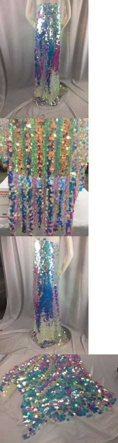Fabric 28162: Fantastic Hologram Big Dot Sequin Mesh Fabric 54 Pink Pearl. Sold By The Yard. -> BUY IT NOW ONLY: $38.99 on eBay!