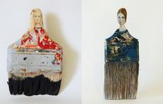 Rebecca Szeto's Paintbrush Portraits play withnotions of re-forming beauty and value, offering a critique on consumerism, women's work,...