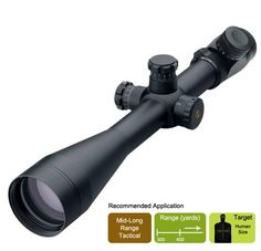 Leupold Mark 4 LR/T 6.5-20X50 Riflescope w/ M1 Reticle - For Mid-Range Tactical Applications