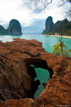 Railey Beach (Rai Leh) – Located in a city of Krabi, Ao Nang in Thailand. It is a small peninsula that is only reachable by boat due to the ...