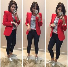 outfit with blazer outfit with blazer Casual Chic Outfits, Estilo Casual Chic, Business Casual Outfits, Casual Chic Style, Work Casual, Fall Outfits, Cute Outfits, Fashion Outfits, Fashion Vest