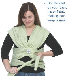How to wear a moby wrap
