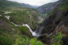 Voringfossen (waterfall), Norway by MarcoSVB