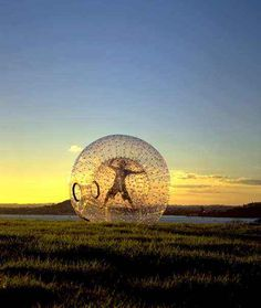 Zorbing in New Zealand - what it's really like to be a hamster!