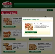 Pinned January 29th: Second large 1-topping free at #Papa Johns via promo code P1BOGO #coupon via The #Coupons App