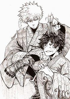 Bakugou Katsuki & Midoriya Izuku