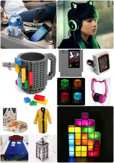 Geeky Gift Ideas!  We have found a slew of NEW gift ideas this year!  Check these out!