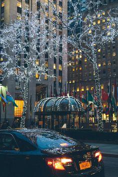 Rockefeller Lights . Manhattan