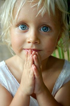gorgeous...this will hopefully be what my future daughter will look like...white blonde hair and blue eyes :)