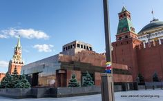 Moscow 2012 LEGO - Life of George visited Lenin's Mausoleum also at the Red Square. Where.....