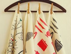 How To Make #DIY Tea Towels