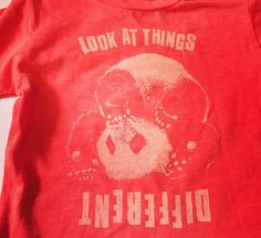 Lion of Leisure @ Playtime - Paris // new Baby T-shirt PANDA 'Look at things different'