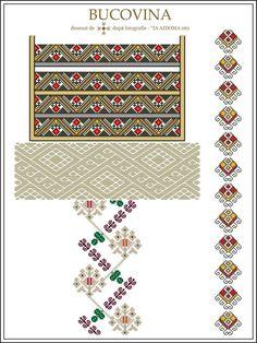Folk Embroidery, Cross Stitch Embroidery, Embroidery Patterns, Cross Stitch Patterns, Popular Costumes, Palestinian Embroidery, All Craft, Cross Stitching, Beading Patterns