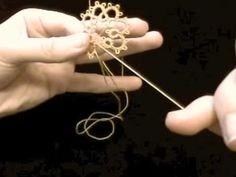 How to Make a Folded Join in Tatting video from Tatted Treasures blog. I always have to refer back to this since I am a beginner.