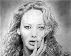 Jennifer Lawrence by theONE2k6.deviantart.com on @deviantART