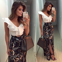 I love everything about this Fall outfit. Lovely Fall Fresh Looking Outfit. 54 Fresh Fashion Trends That Always Look Great – I love everything about this Fall outfit. Lovely Fall Fresh Looking Outfit. Dress Outfits, Fashion Outfits, Womens Fashion, Fashion Trends, Fashion Clothes, Fashion Fashion, Street Fashion, Long Summer Dresses, Short Dresses