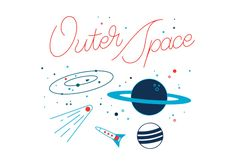 Free Outer Space Vector