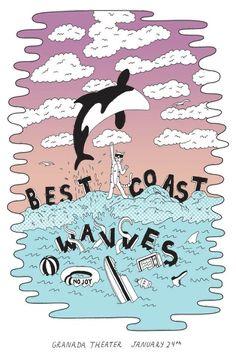 Best Coast | Wavves | No Joy - 1/24/11 (by Paul Windle)