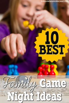 It's time to bring back family game night. We seem to be losing this decades long traditions to the busy schedules and rushed life of the modern family. Slow down and reconnect. It will be fun and your kids will thank you one day! SunshineandHurricanes.com