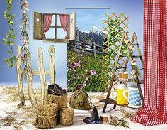 Idea decorativa Alpes en el verano