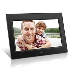 Aluratek ADMPF310F 10Inch Digital Photo Frame with 4GB BuiltIn Memory Black *** Check out this great product. (Note:Amazon affiliate link)