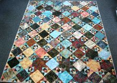 Diane Brown of Moore, ID made and donated this quilt to Hopes & Dreams. www.hopesanddreams.quiltersdreambatting.com
