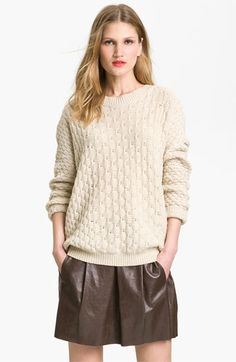 Vince Oversized Chunky Knit Sweater | #Nordstrom #falltrends