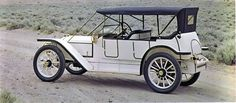 """1913 Coey Flyer Model A Touring - Coeys were made by the Coey Mitchell Automobile Co. of Chicago from 1910-1917. Charles A. Coey, balloonist & inventor, was the Chicago agent for the Thomas Flyer automobile but decided he would build his own car; he called it the Coey Flyer and had no problem claiming that his car would """"beat the world."""" The marque was absorbed by the Wonder Motor Truck Co. This car has a 6 cyl., 50hp, 377ci engine and is one of 2 Coeys in existance."""
