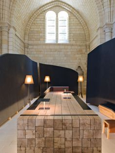 Abbaye design et high-tech à Fontevraud | MilK