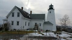 Dyce's Head Lighthouse in Castine, ME