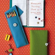 Back to school is here, so check out this collection of ideas inspired by education.