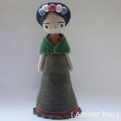 Frida - Crochet Pattern by { Amour Fou }