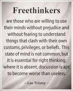 FREE THIHKERS