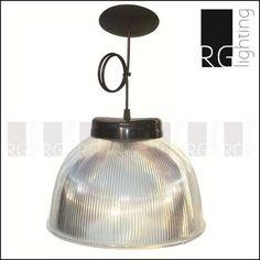 campana colgante de policarbonato 32cm diametro