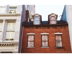 Building in SoHo NYC, photographed by riotjane on Etsy
