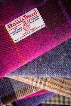 Harris Tweed Purse - Polly - £37.50