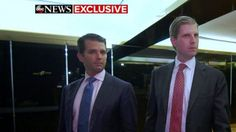 Tuesday, June 6, 2017: 	Trump Sons' Expansion Of Mid-Market Hotel Chain 'Has Nothing To Do With Politics'