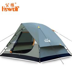 Waterproof High Quality Firberglass Double Layer 2-4 Person C&ing Tent 3 Colors-Loluxe  sc 1 st  Pinterest & The Weather System Octagon Big and Tall Tent is ready for all ...