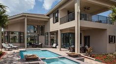 The Dubonnet Grande offers plenty of space for a pool! See the floorplan: http://www.glhomes.com/riverstone/new-homes/classic/dubonnet-grande