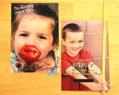 photo v-day cards for kids.