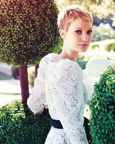 Mia Wasikowska short hair