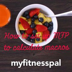 How to Set Up My Fitness Pal to Count Macros   a health & fitness blog