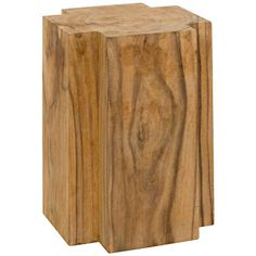 Shop the Haru End Table at Perigold, home to the design world's best furnishings for every style and space. Wood Furniture Store, Unique Furniture, Western Furniture, Ikea Furniture, Furniture Stores, Furniture Ideas, Furniture Design, Outdoor Furniture, Teak