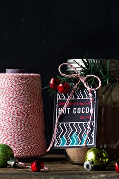 Hot Cocoa Mix + Free Printable Tags
