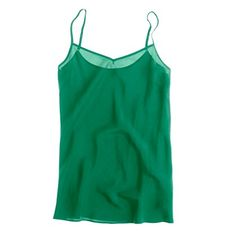 Silk Cami from J Crew